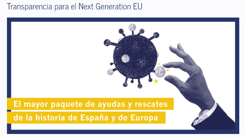 Transparencia para el Next Generation EU